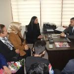AK Parti Hatay Milletvekili Özgürsoy'dan, HATODER'e ziyaret