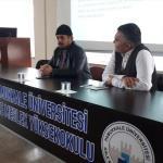 Yüksekokul öğrencilerine kadın hakları anlatıldı