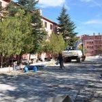Sorgun'daki eski devlet hastanesi yıkıldı