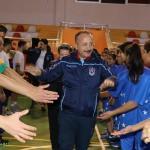 Siirt Valisi Atik, öğrencilerle basketbol oynadı