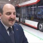 Bakan Varank yerli elektrikli otobüsü test etti!