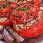 Fırında domates dolması nasıl yapılır?