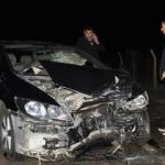 İki otomobil çarpıştı! 6 yaralı