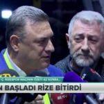 Rizespor'dan VAR ve bildiri açıklaması