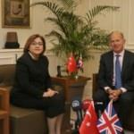 Şahin Birleşik Krallık Ankara elçisini kabul etti