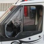Polis kamyonetteki adamın hayatını böyle kurtardı