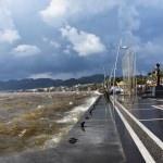 Marmaris'te sağanak ve rüzgar etkili oldu