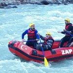 Zap Suyu'nda rafting