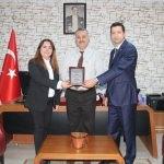 Edirne'ye beslenme dostu okul plaketi