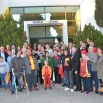 Galatasaray Kadın Basketbol takımı engellileri ziyaret etti