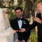 Erdoğan ve Temel Karamollaoğlu nikahta bir araya geldi