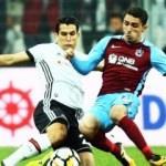 Beşiktaş - Trabzonspor maçında ilk 11'ler