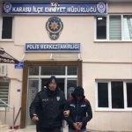 Sakarya'da hırsızlık şüphelisi 2 kişi tutuklandı