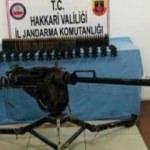 PKK'ya ait doçka uçaksavar ele geçirildi