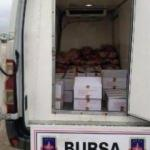 1 ton kaçak kesim et ele geçirildi