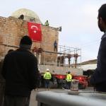 Eyyubi Camisi'nin en ağır bölümü Yeni Kültürel Park Alanı'na taşındı