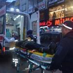 Bilecik'te otomobil yayaya çarptı: 1 yaralı