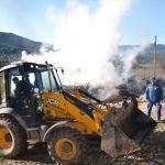 Antalya'da tarihi düğmeli ev yandı