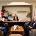 Elazığ Şehir Hastanesi Başhekimi Öztürk'e ziyaret