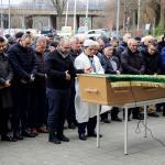 Hollanda'da kahraman ilan edilen Türk görevlinin cenaze namazı kılındı