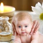 Bebekler için masaj yağı nasıl yapılır?