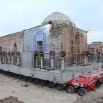 Eyyubi Camisi'nin en ağır bölümü Yeni Kültürel Park Alanı'na taşınıyor