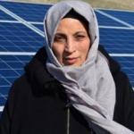 Kadın girişimci arazisini güneş tarlasına çevirdi