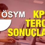 2018/2 KPSS tercih sonuçları! Memurluk alımı ÖSYM başvurusu...