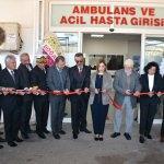 Marmaris Devlet Hastanesi Acil Servis yenilendi