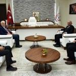 Başkan adayı Şahin'den Kuntoğlu'na ziyaret