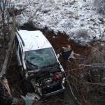 Kayseri'de araç kanala yuvarlandı: 1 ölü
