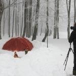 Fotoğrafçılar Domaniç dağlarına kamp kurdu