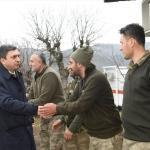 Vali Şahin'den üs bölgesindeki askerlere ziyaret