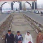 Düğün çekimindeki drone faciayı böyle görüntüledi