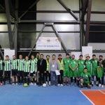 Uluslararası öğrenciler futbol turnuvası başladı