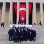 Mustafa Cengiz, Anıtkabir'i ziyaret etti