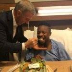 Başkan'dan Onazi'ye sürpriz ziyaret