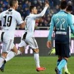 Ronaldo sonradan girip Juve'ye puanı getirdi!
