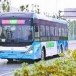 Sürücüsüz akıllı otobüs deneme sürüşüne başladı