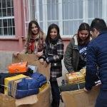 Sungurlu'da ihtiyaç sahibi öğrencilere yardım