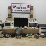 Ordu'da bağ evi hırsızları yakalandı