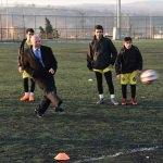 Belediyeden Tekirdağspor'a malzeme desteği