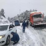 Antalya'da kar