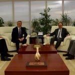 Büyükşehir Belediye Başkanı Şahin'den OMÜ'ye ziyaret