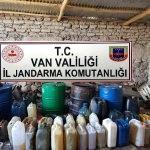 Van'da kaçakçılık ve uyuşturucu operasyonları