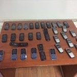 Kütahya'da kaçak telefon operasyonu