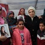 Emine Erdoğan'dan Diyarbakır'daki ailelere ziyaret