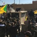 Irak'ta ABD Büyükelçiliği işgal edildi! Binayı basıp ateşe verdiler