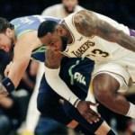 LeBron James tarihe geçti! Lakers kazandı