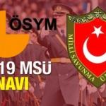 2019 Milli Savunma Üniversitesi (MSÜ) sınavı için tarihi kesinleşti